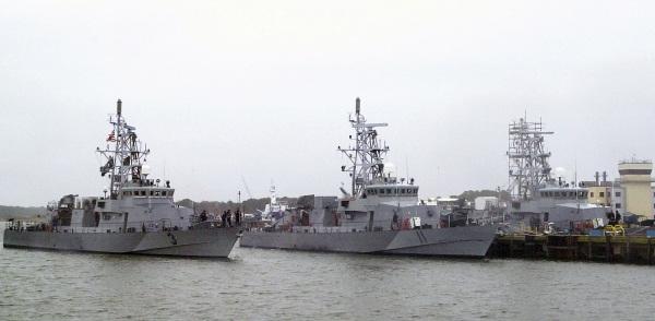USN Cyclone class patrol ships