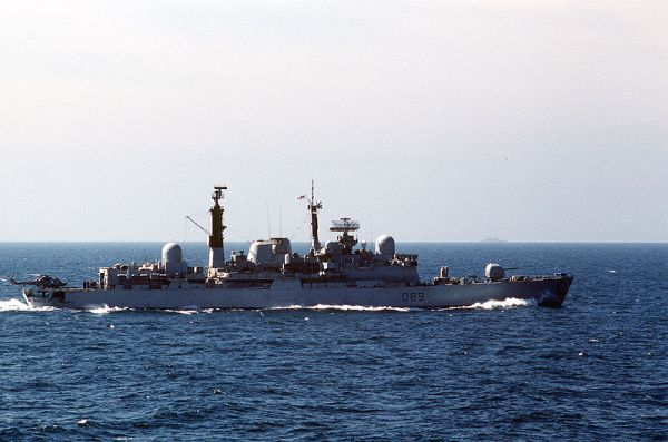 HMS Exeter (D89)