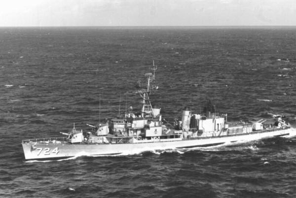 USS Laffey DD-724