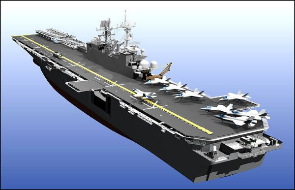 USS America LHA-6 Artist's Conception