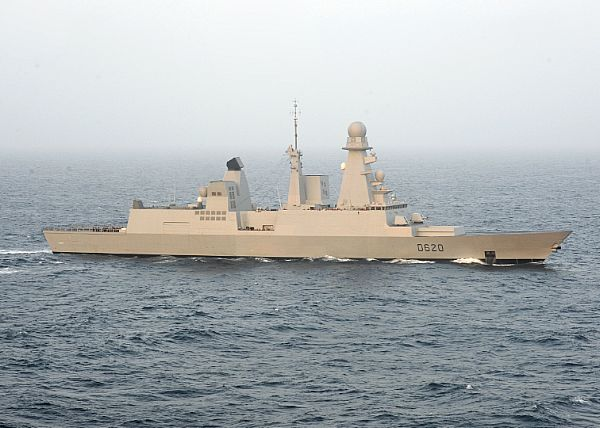 French Navy destroyer FS Forbin (D620)