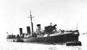 HMS Havock torpedo boat destroyer