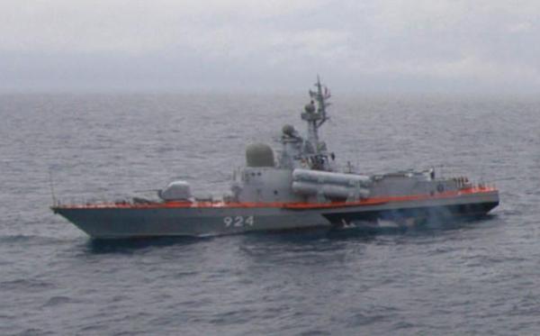 Russian Tarantul class missile boat
