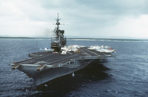 USS Midway (CV-41) in 1984