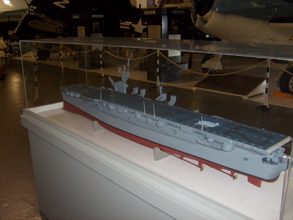 Model of an Independence class light carrier.