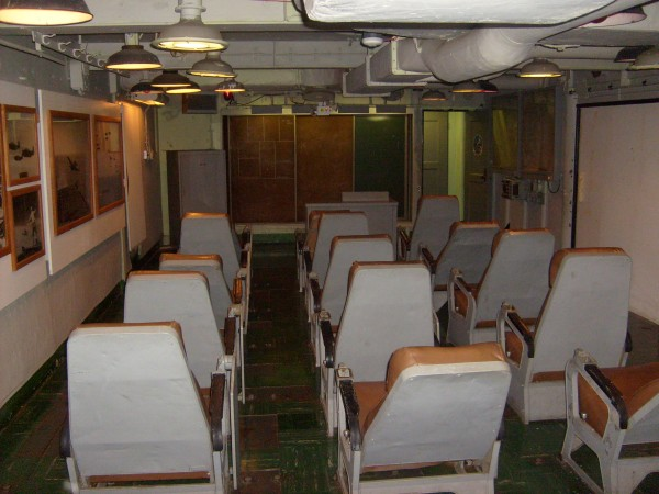 Pilot's briefing room.