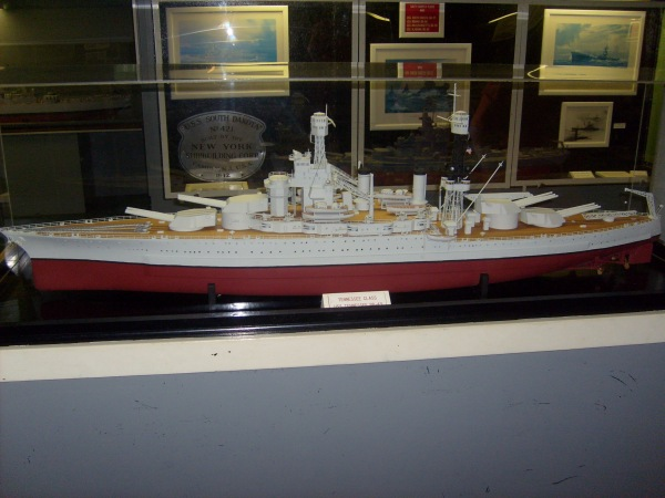 Magnificent display of the USS Tennessee BB-43.
