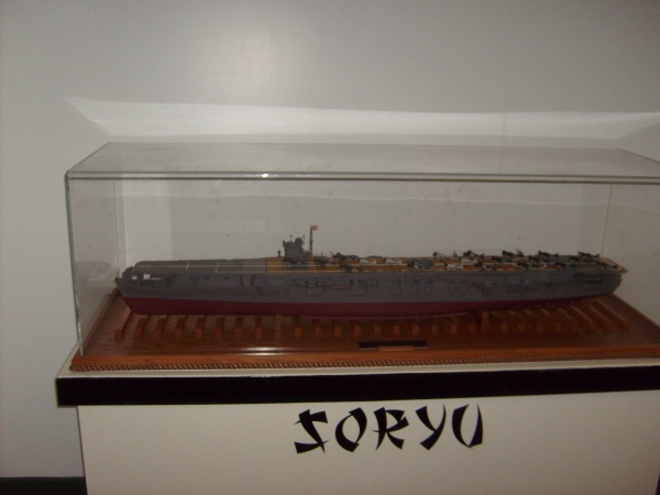 IJN Soryu, Pearl Harbor veteran, sunk by the original USS Yorktown CV-5 on June 4, 1942.