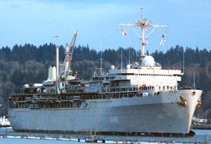 Submarine Tender USS Emory Island  (AS 39)