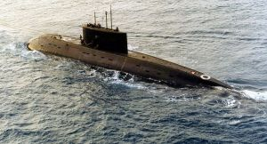Third Russian Kilo-class submarine purchased by Iran.