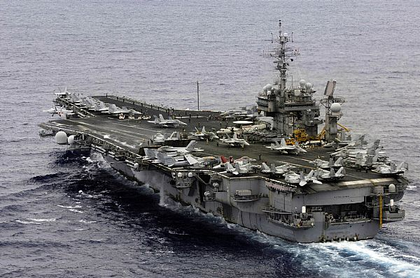 USS Kitty Hawk (CV 63)