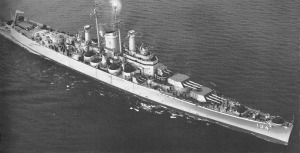 USS Des Moines CA-134, the largest heavy gun cruisers ever built, and also the last.