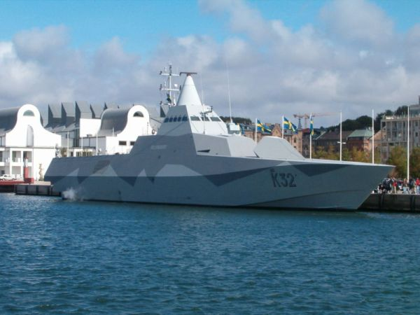 Sweden's Visby corvette is Meyer's ideal platfrom for a d/e corvette design.