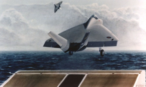 Artist's conception is the Royal Navy version of the Joint Strike Fighter.