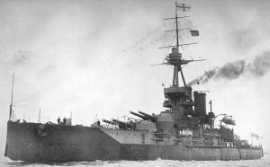 Superdreadnought HMS Iron Duke (1912)