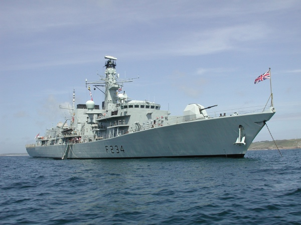 Type 23 Frigate HMS Iron Duke-photo author Jeremy Pearson.