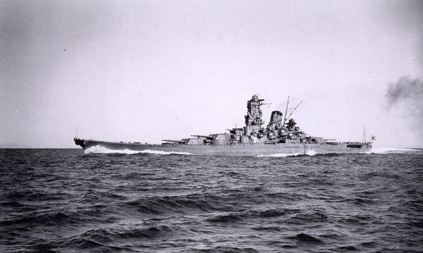WW 2 Japanese super-battleship Yamato ended its brief career as a titanic Kamikaze ship.