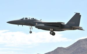 F-15K Slam Eagle from the Republic of Korea Air Force.