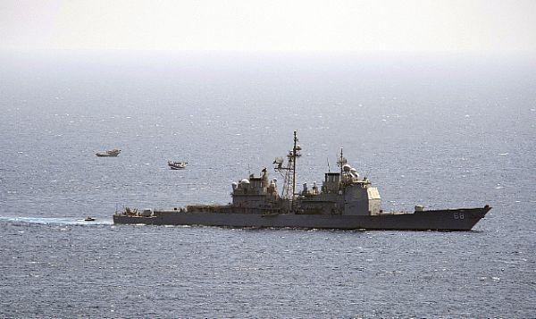 USS Anzio (CG 68) in the Gulf.